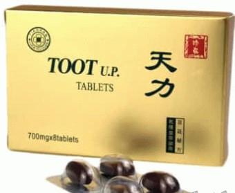 Cutie tablete pentru potenta Toot Up, 8 bucati, Sanye Intercom - disponibil pe planteco.ro